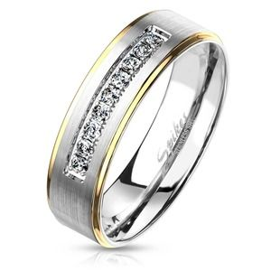 New stainless steel CZ ring